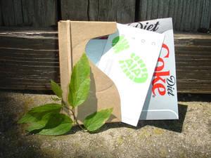 Upcycled Coke Business Card I