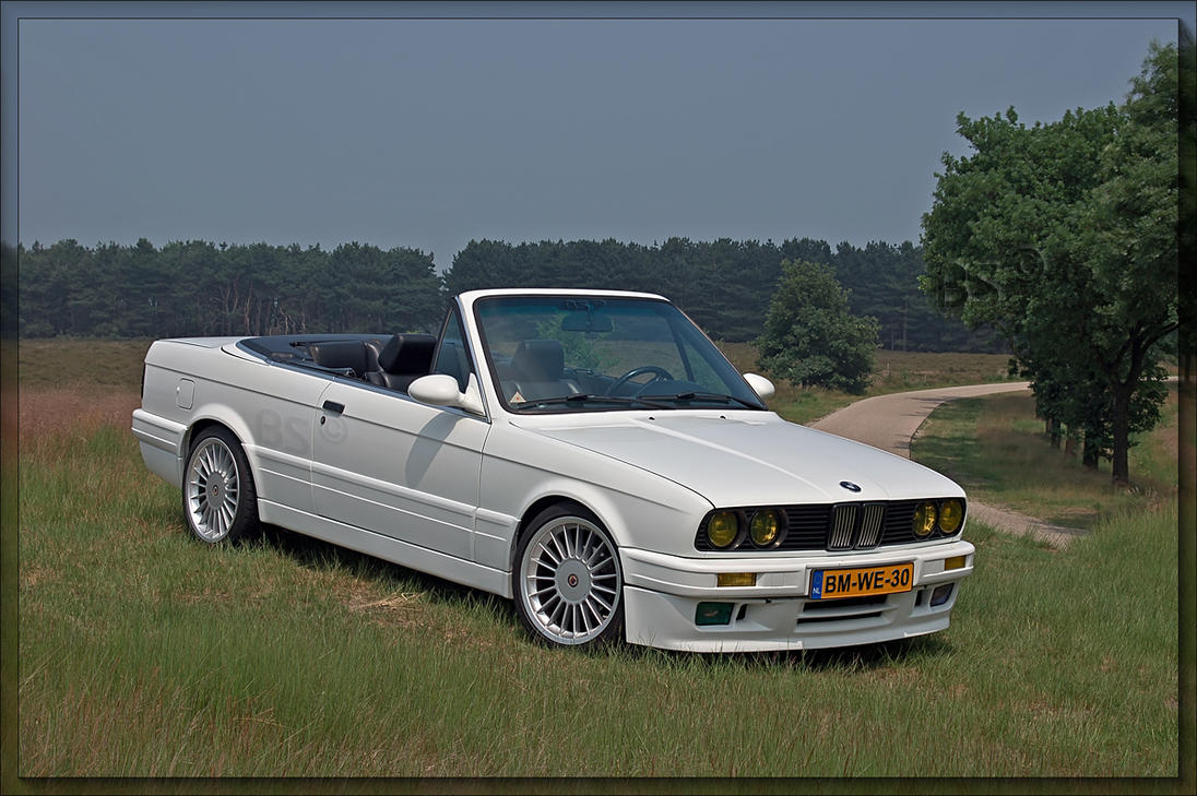 BMW E30 convertible HDR by CabrioBob on DeviantArt