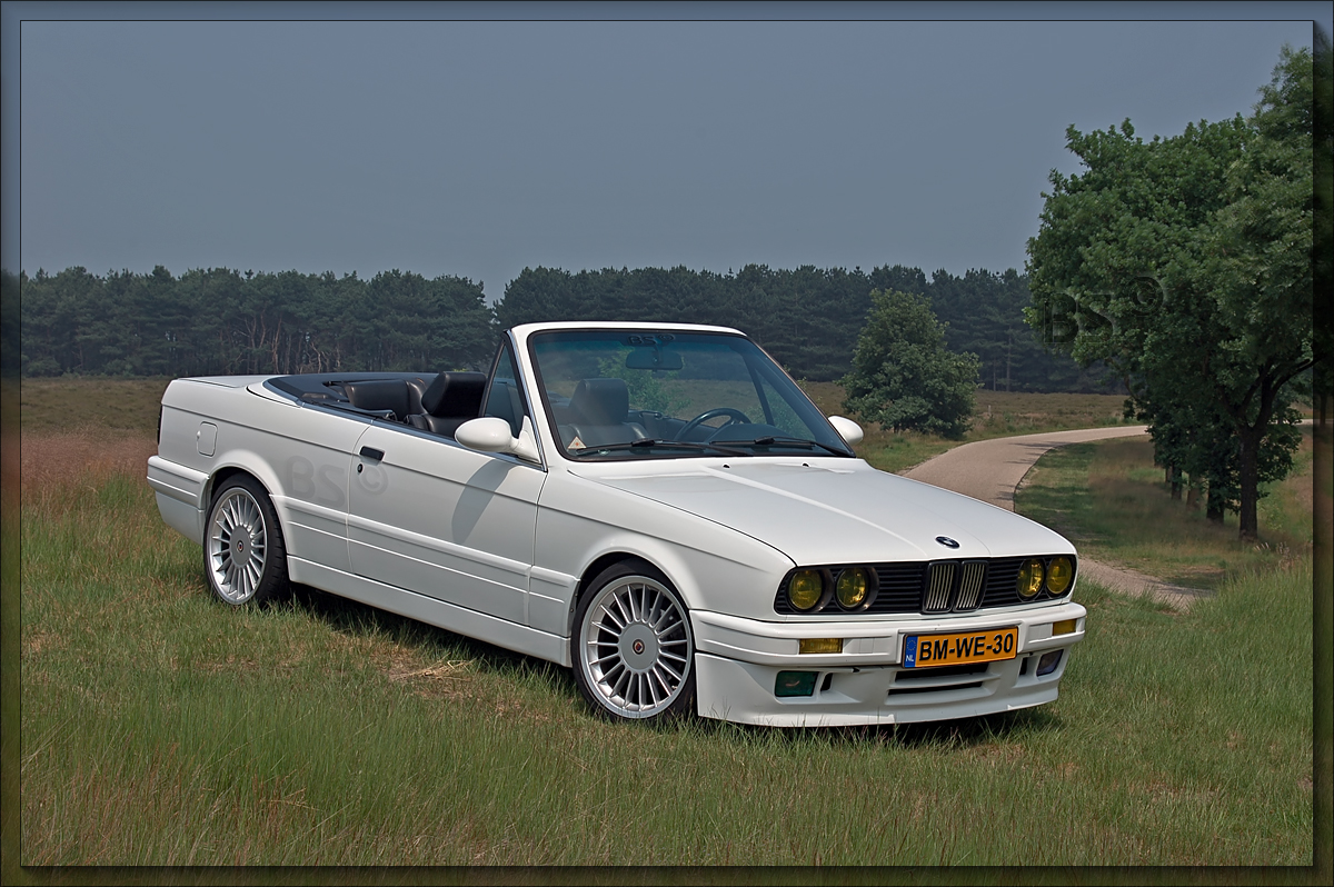 bmw e30 convertible hdr by cabriobob on deviantart. Black Bedroom Furniture Sets. Home Design Ideas