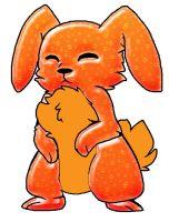 Fanta the Soda Pop Bunny by Loralove8
