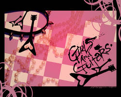 wallpaper:_girls_and_guitars. by rotten-and-diseased