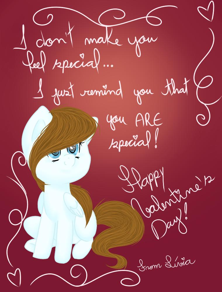 Valentine's Day Card by Azure-Art-Wave