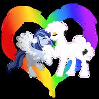 Rainbows by Azure-Art-Wave