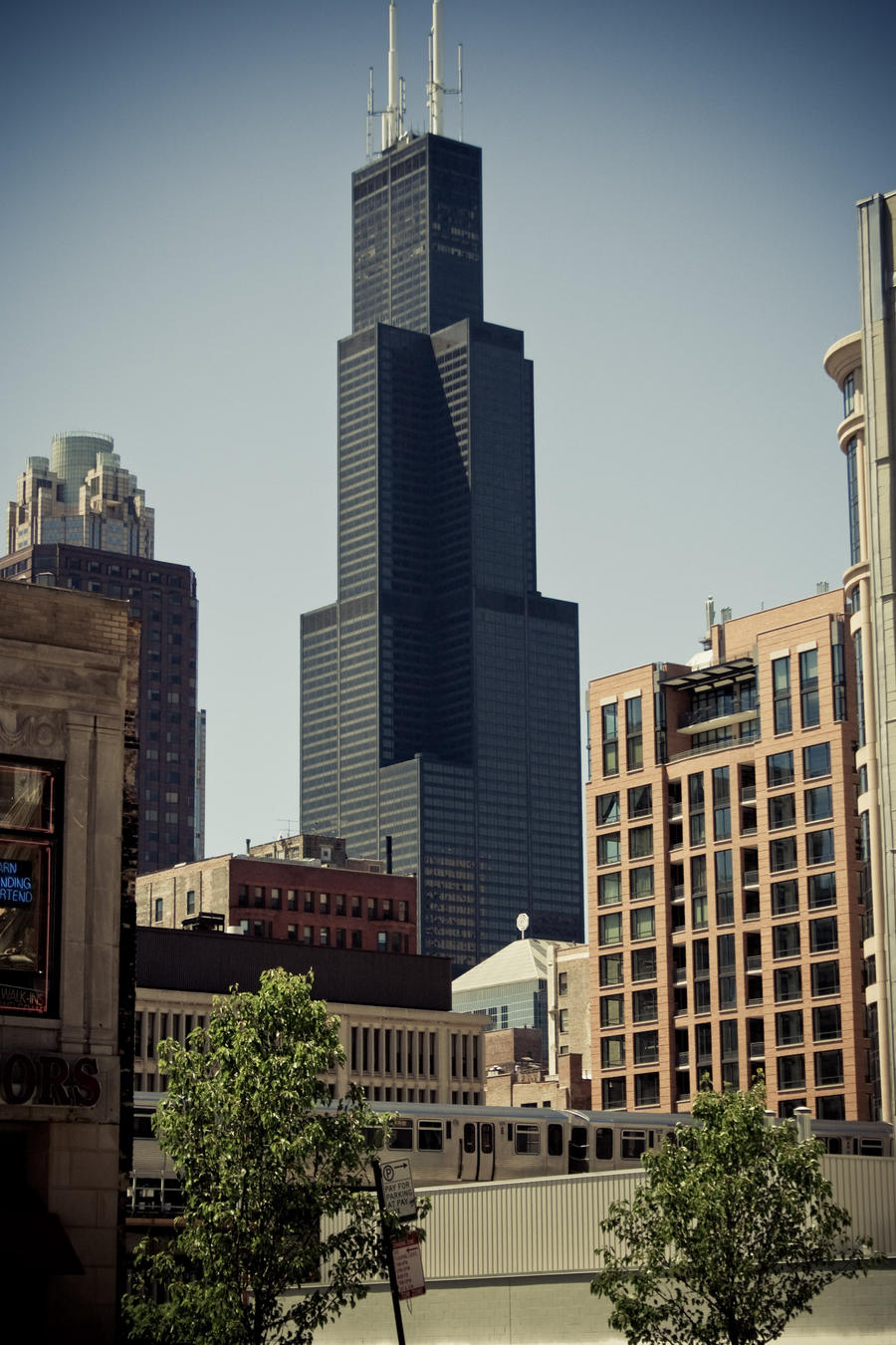 Willis Tower South Wacker Drive Chicago Il