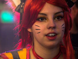 Ahri Cosplay - V4 Future Sports Festival Budapest by abysan