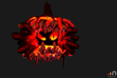 Halloween Oculus Medium Contest 2. Place :) - VR by abysan