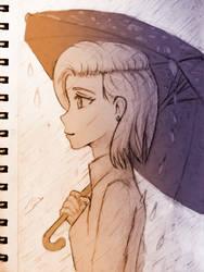 Rain by abysan