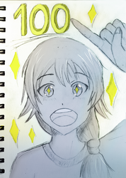 100 Insta followers