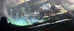 Mining station anomaly