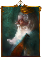 Beedle the Bard by elbarien