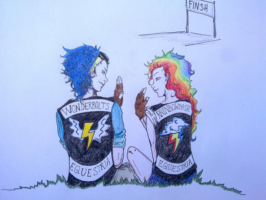 Give me five Rainbow Dash! by Nanune13
