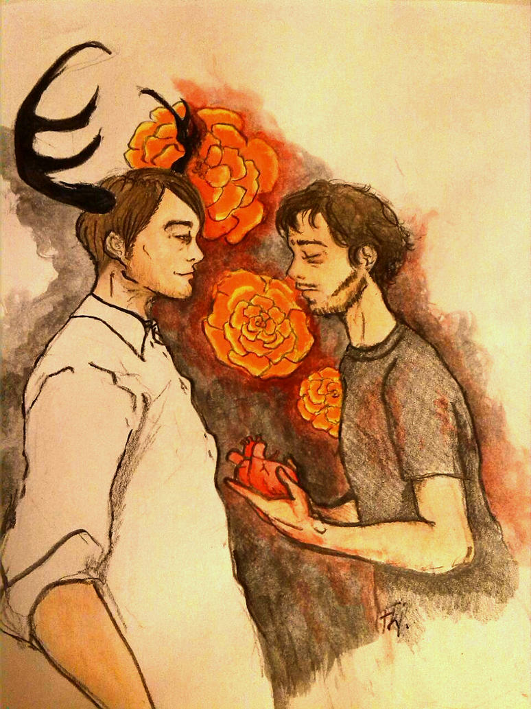 Hannibal and Will by Nanune13