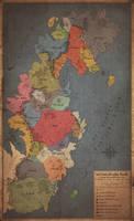 The known World (kingdoms 1356 a. B., II. Age)