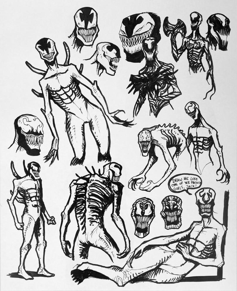 Sketchdump#4 - Carnage by Orboroth