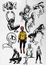 Sketchdump#8 - Spiderman