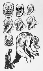 Sketchdump #9 - Venom