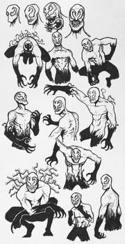 Sketchdump #10 - Toxin