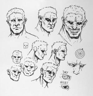 Sketchdump #11 - Garth