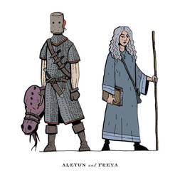 Aletun and Freya