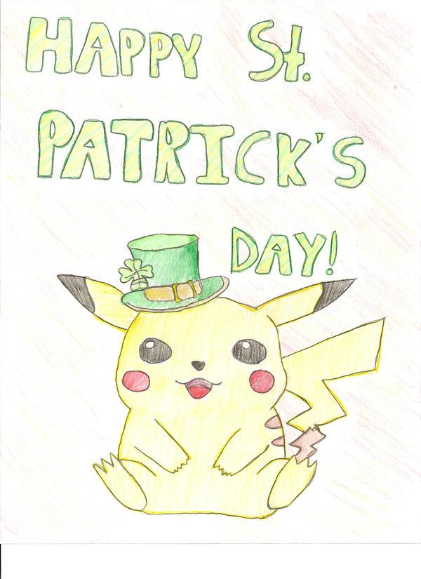 Happy St. Pika's Day by Shikatastic
