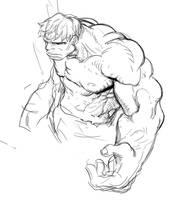Hulk by dogsup