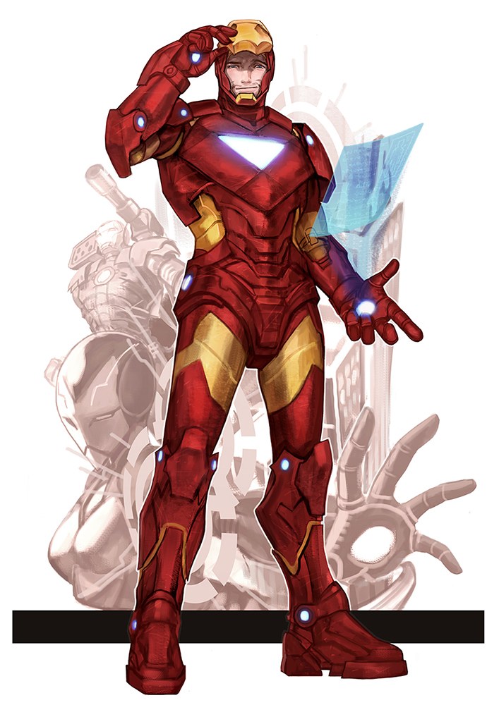 Iron man by dogsup