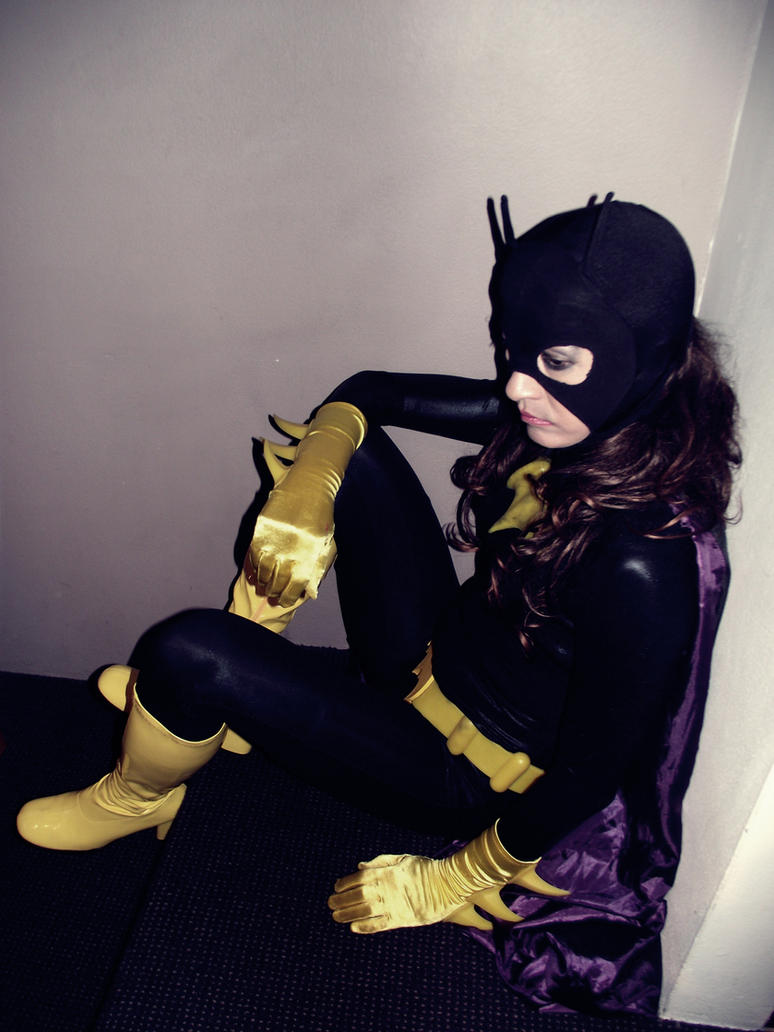 Batgirl Back in Black - The Wait by ozbattlechick