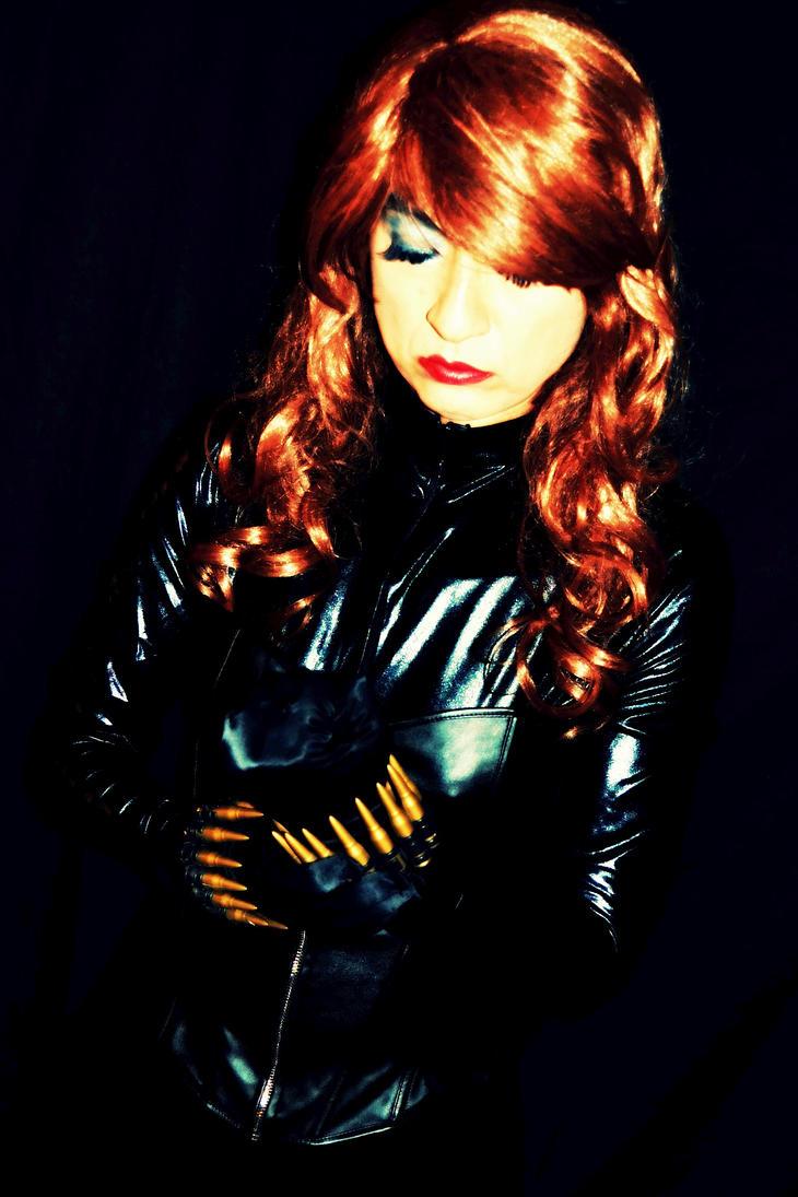 Black Widow Cosplay - Loading Up! by ozbattlechick