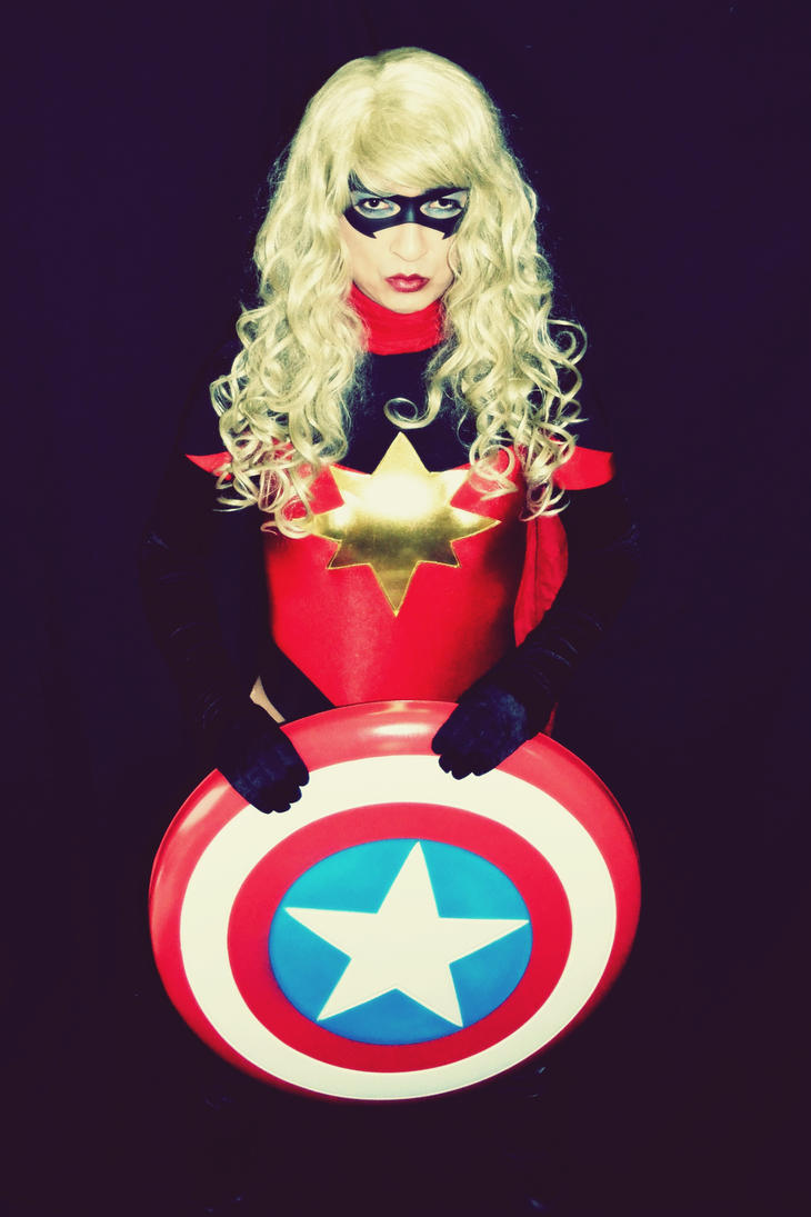 Dark Reign Ms Marvel Cosplay - Look what I found.. by ozbattlechick