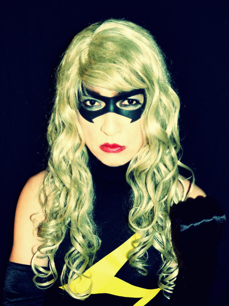Ms Marvel Cosplay - Close Up by ozbattlechick