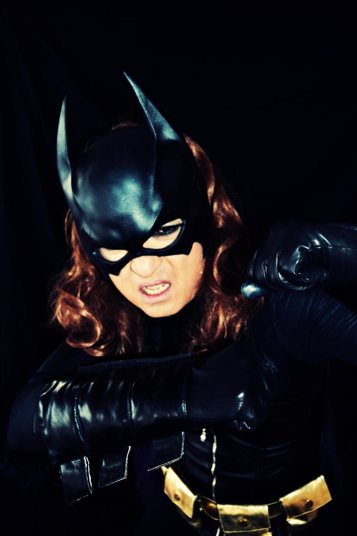 Batgirl Cosplay Photostory Ch 15 Combat by ozbattlechick