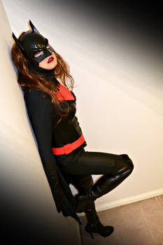Batwoman Cosplay Photostory Ch2 Lying in wait