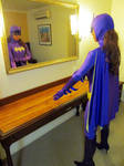 66 Batgirl Cosplay - final touches by ozbattlechick
