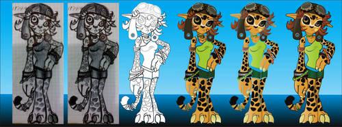 jaguar girl