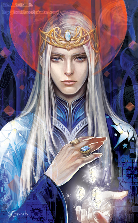 of the Sindar - the Gray Elves under Elwë Singollo (Eru Tingol) & Melian the Maia Thingol11_by_fromkitnoc-d9a3m33