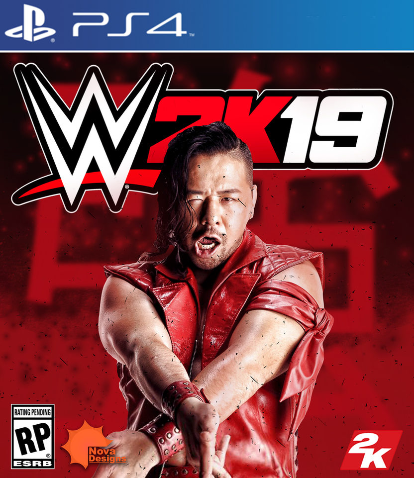 WWE2k19 Game Cover Concept by potcolegend1