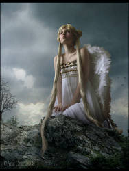 For my fallen angel by LuneBleu