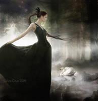 Mirror of serene shadows by LuneBleu