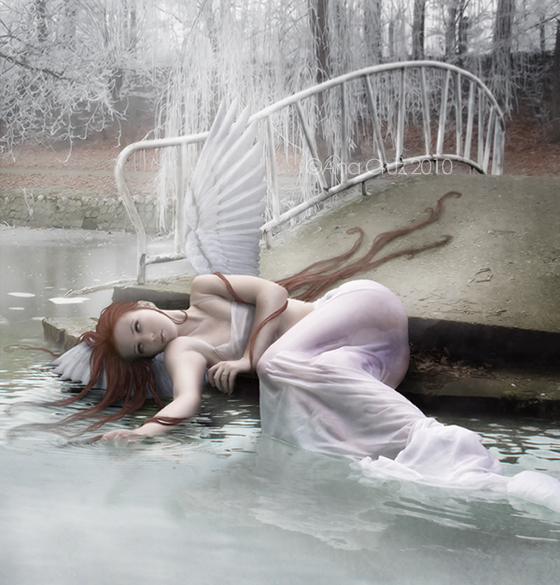 An angel's demise by LuneBleu