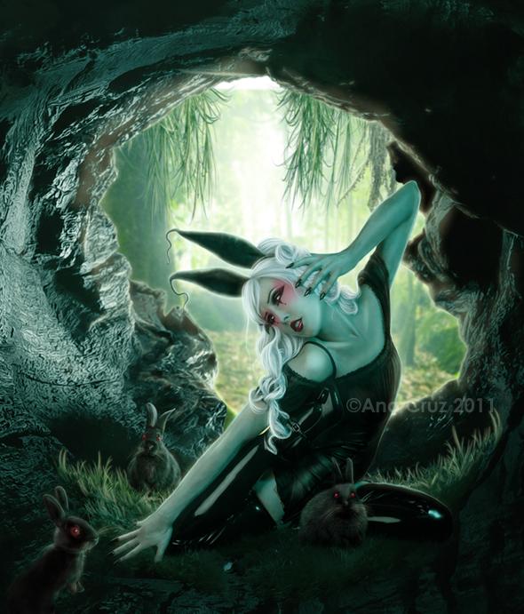 Dark fantasies perdition by LuneBleu