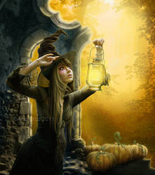Halloween's tale by LuneBleu