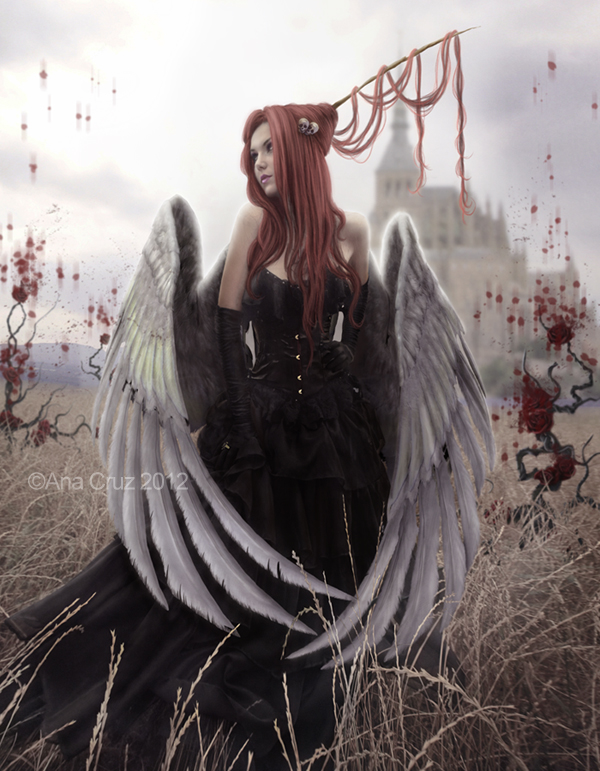 Angels walk among us by LuneBleu