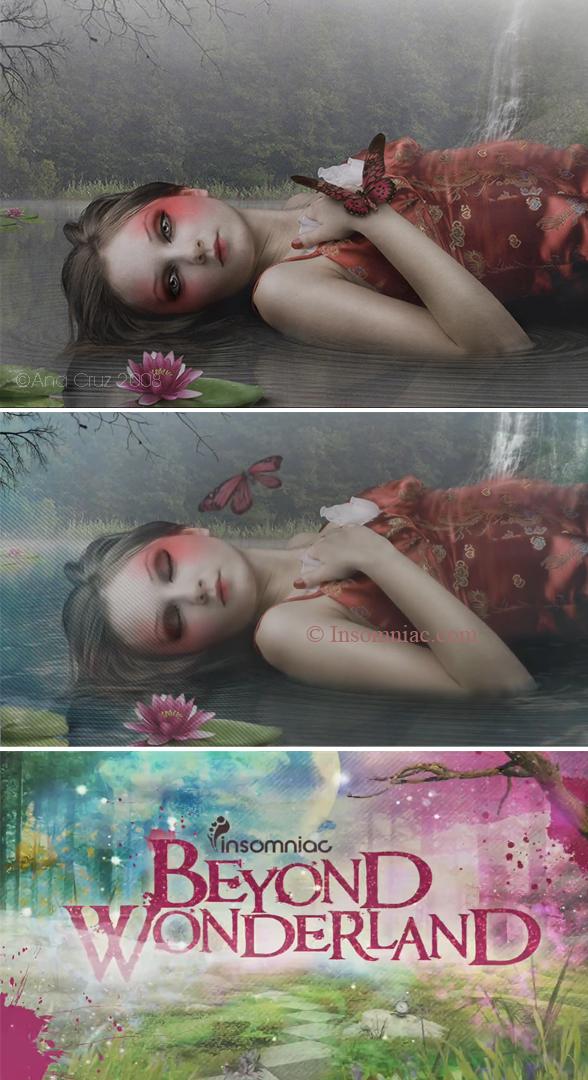 Beyond Wonderland - trailler artwork by LuneBleu