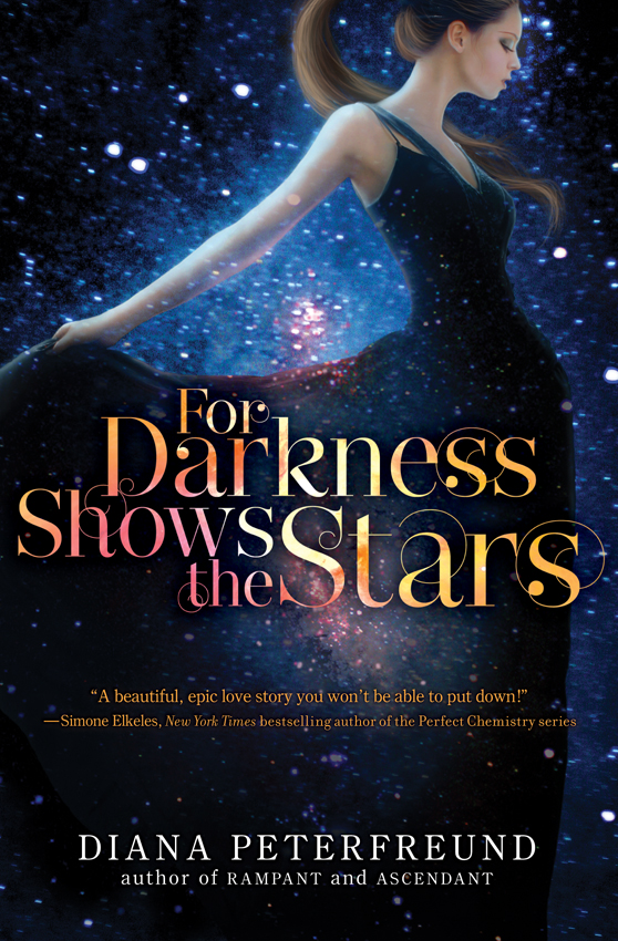 For Darkness Shows the Stars - book cover by LuneBleu