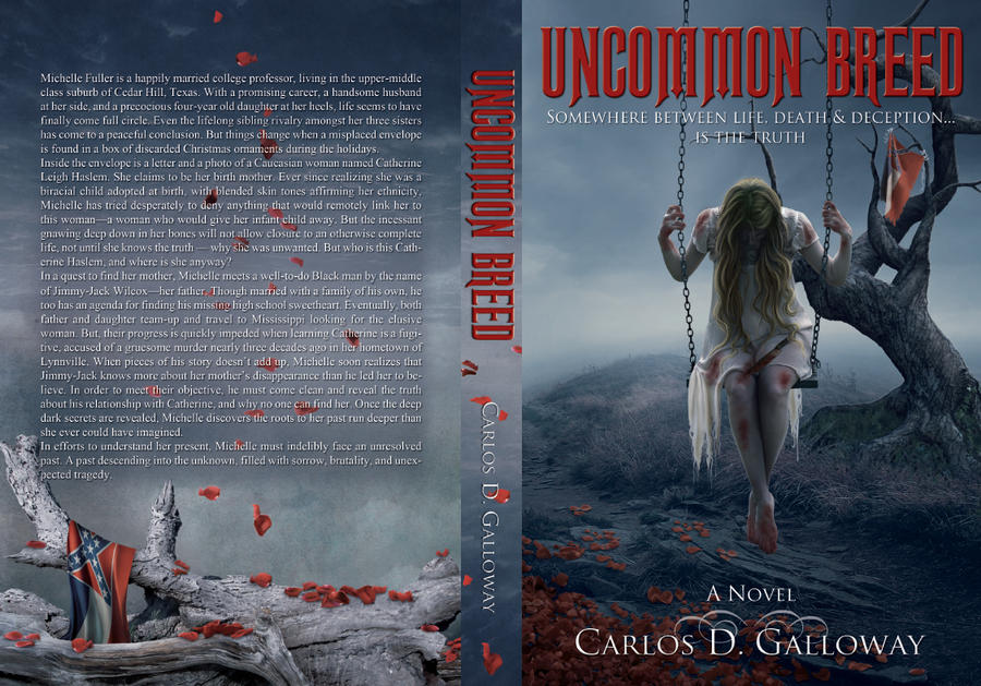 Uncommon Breed - Book cover and layout