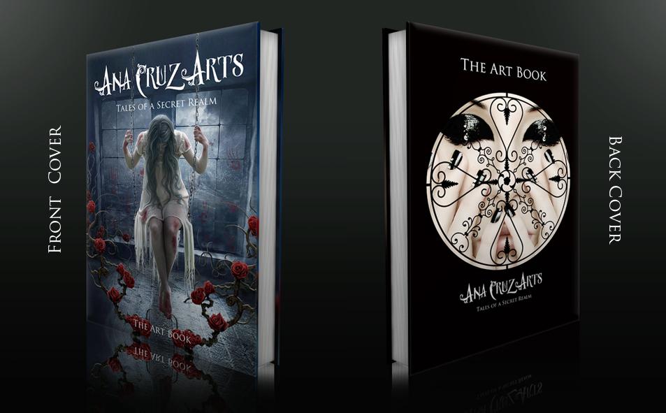 Ana Cruz Arts - The Art Book by LuneBleu