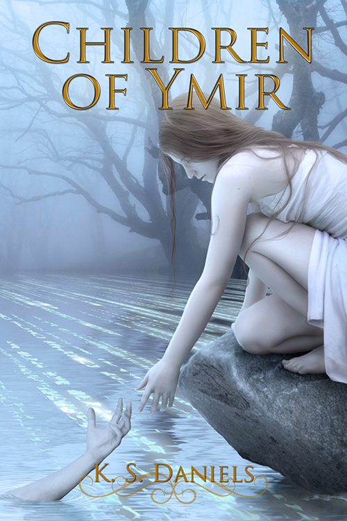 Children of Ymir - book cover by LuneBleu