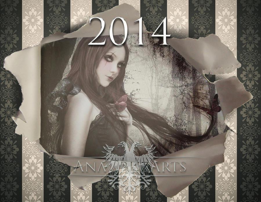 Art Calendar 2014 by LuneBleu