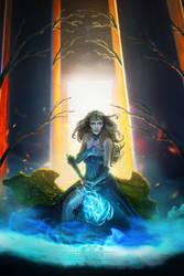 The Conjurer of Light by LuneBleu