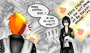 Break time: Happy birthday, Ichigo!
